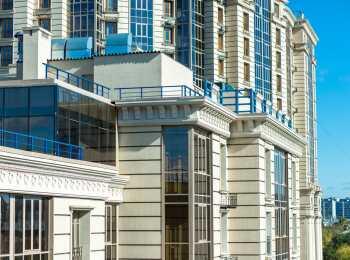 Панорамное остекление, классическое архитектурное решение внешних фасадов